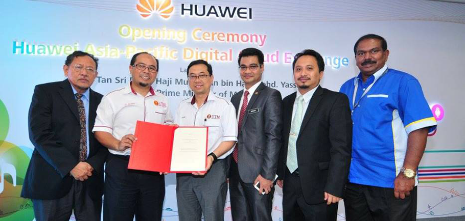 MoU Signing between UTM and Huawei