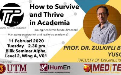 How to Survive and Thrive in Academia