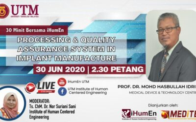30 Minutes with iHumen – Processing & Quality Assurance System in Implant Manufacturing
